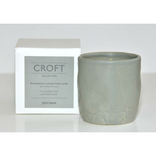 Croft Collection candle Rhododendron and pine Forest, John Lewis