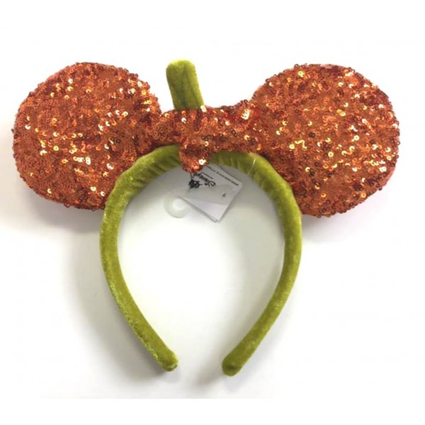 Disney Halloween pumpkin Headband ears
