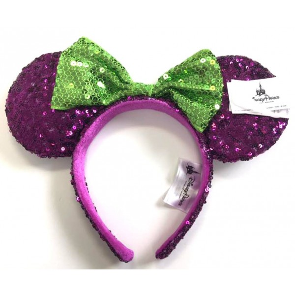 Disney Minnie Mouse Sequined Headband ears