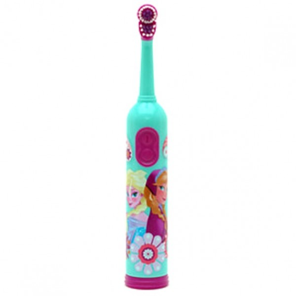 Anna And Elsa Rotary Toothbrush With Timer Frozen