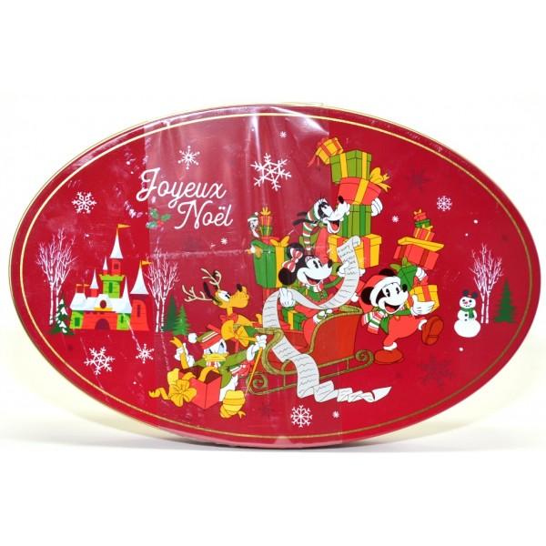 Disneyland Paris Christmas Chocolates in a Tin box