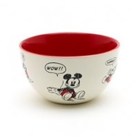 Mickey Mouse Comic Strip Bowl