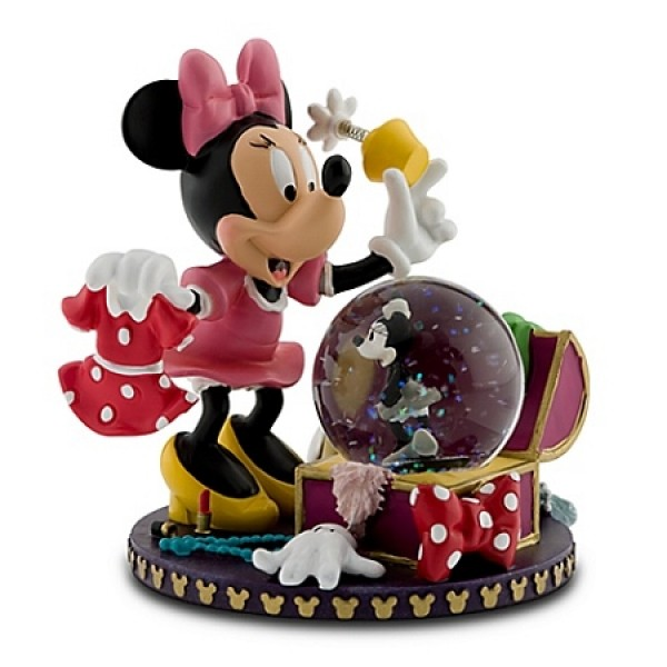 Disney Snow Globe - Costume Chest Minnie Mouse