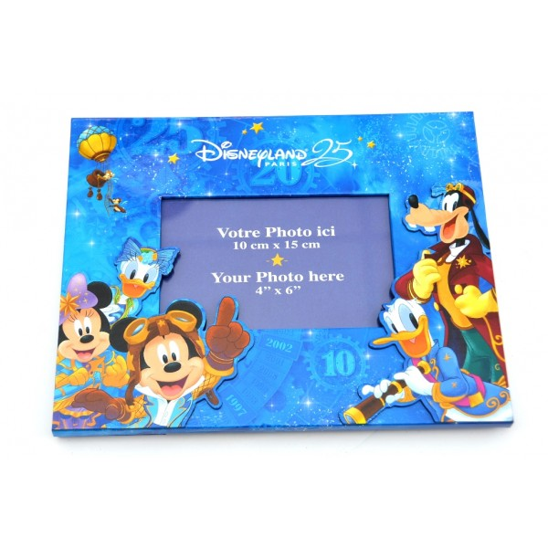 Disneyland Paris 25th Anniversary Photo Frame
