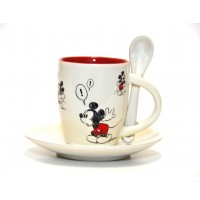 Mickey Comic Strip Espresso Cup Set