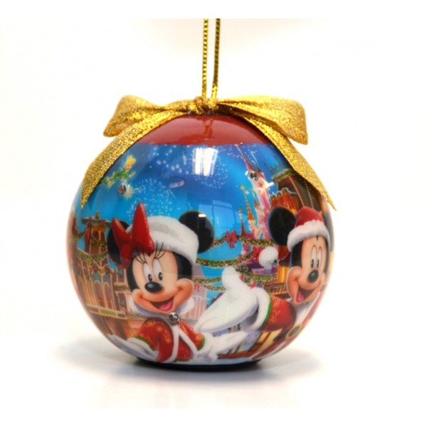 Disney Mickey and Minnie Light-up Bauble