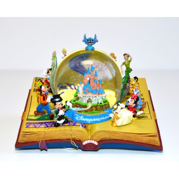 Disneyland Paris Illustration Book Snow Globe
