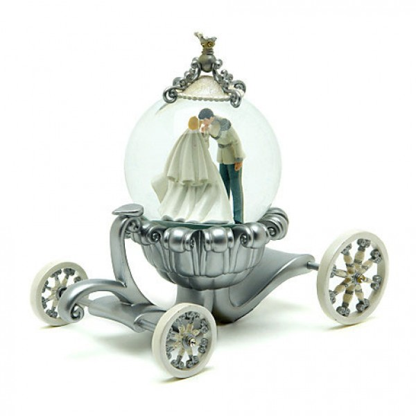 Disney Cinderella Wedding Carriage Snow Globe