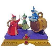 Sleeping Beauty Flora Fauna Merryweather Figurine