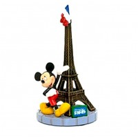 Disneyland Paris Mickey Mouse & Eiffel Tower Figure
