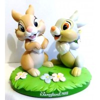 Disneyland Paris Thumper and Miss Bunny Figurine