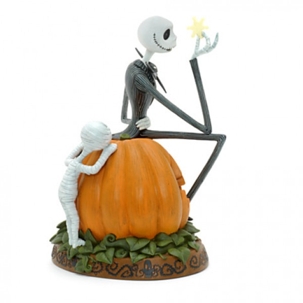 Jack Skellington Light-Up Figurine, Disneyland Paris