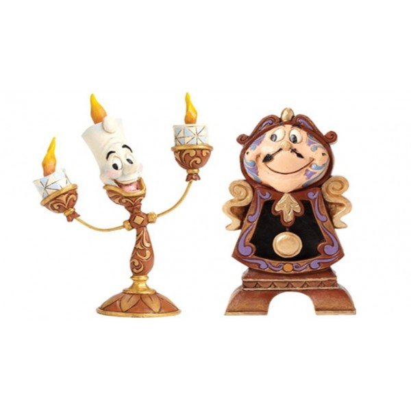 Disney Traditions by Jim Shore - Lumière Oh La La Figurine