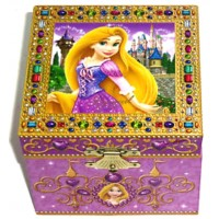 Tangled - Rapunzel Musical Jewellery Box