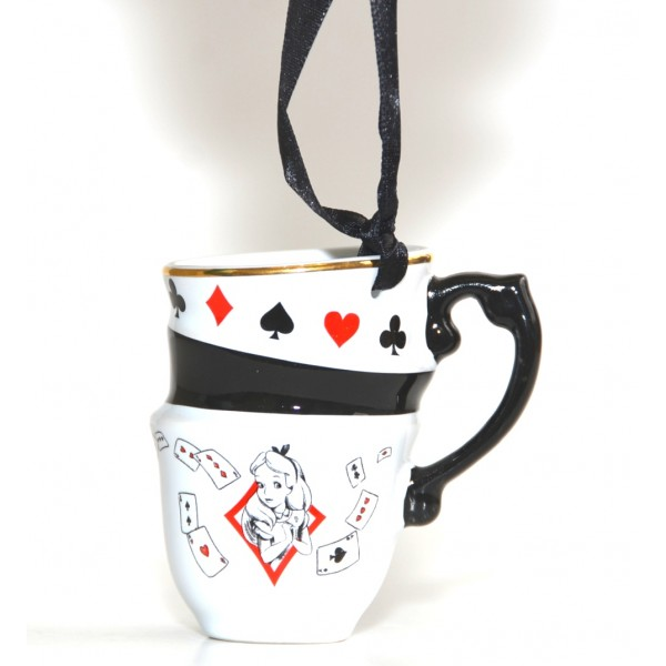 Alice in Wonderland Stacked Mug ornament, New collection Disneyland Paris