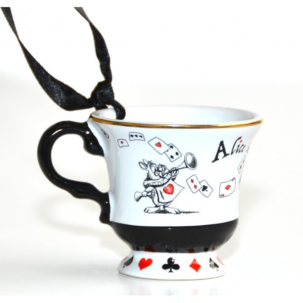 Alice in Wonderland Cup ornament, New collection Disneyland Paris