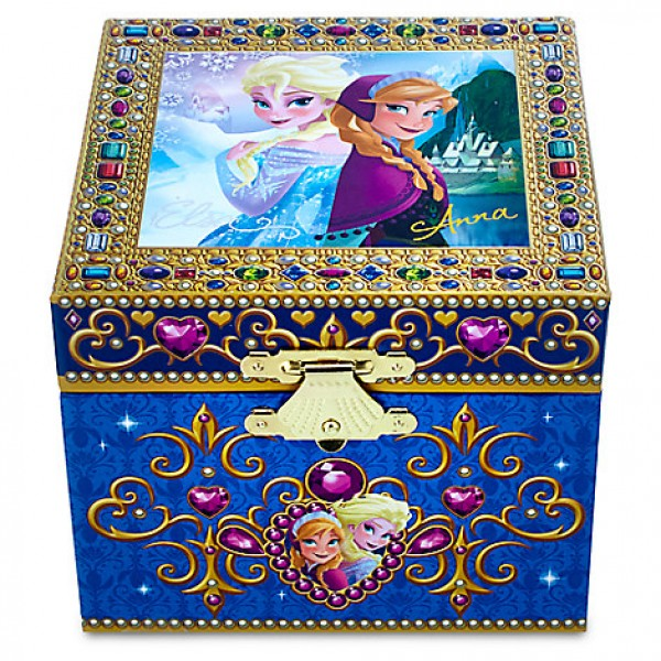 Disney Frozen Musical Jewellery Box, Disneyland Paris