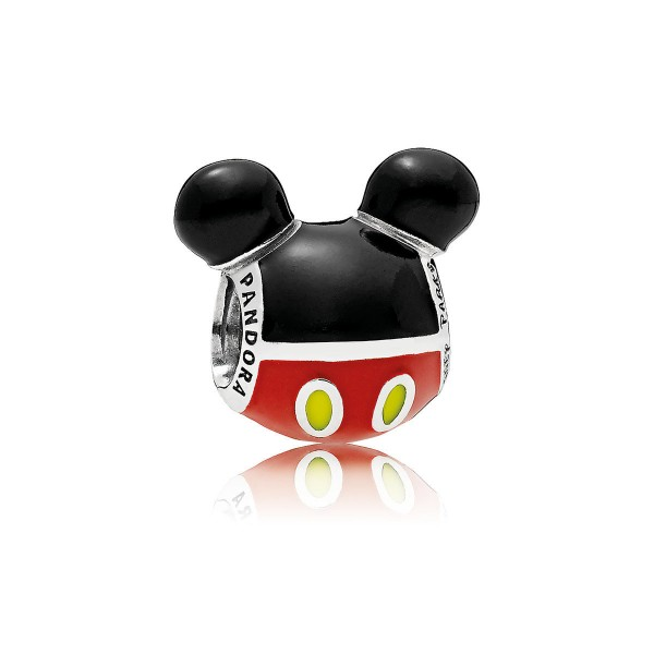 Mickey Mouse Silhouette Icon Charm by Pandora