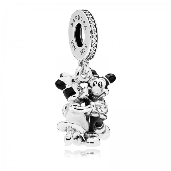Disney Mickey and Minnie Mouse Dangle Charm by Pandora