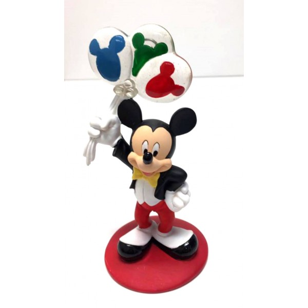 Mickey Mouse with Balloons Photo Picture Figure Clip Frame