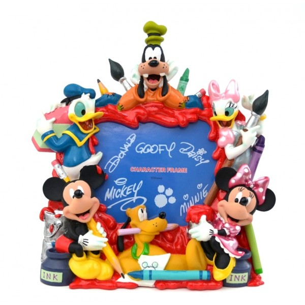 Disney Mickey and Friends Painting Photo Frame