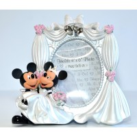 Disney Mickey and Minnie Wedding Photo Frame