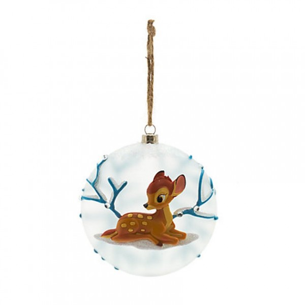 Bambi Glass Decoration