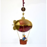 Disneyland Paris 25th Anniversary Donald Duck in Hot air Balloon Ornament