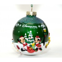 Disney Mickey and Friends Green Bauble