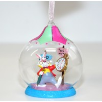 White Rabbit Character, Alice in Wonderland Christmas Bauble
