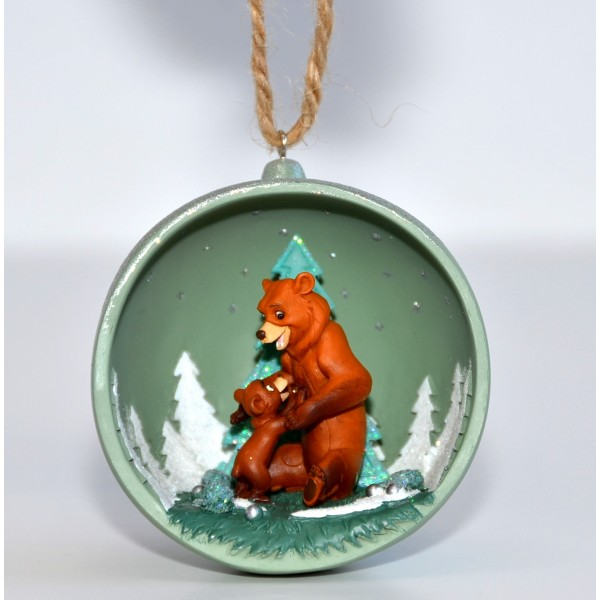 Disney Brother Bear Christmas Open bauble, Disneyland Paris