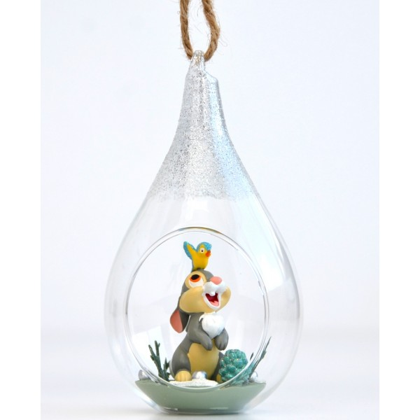 Disney Thumper Open Bauble Christmas Ornament, Disneyland Paris
