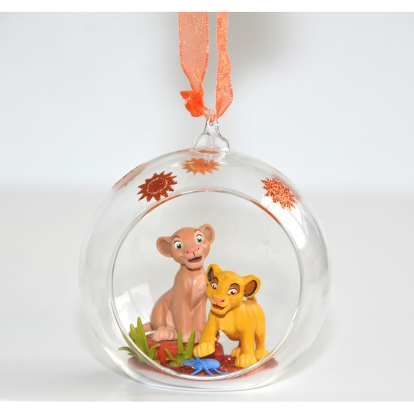 Simba from Lion King bauble Ornament, Disneyland Paris