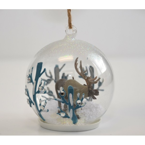 Olaf and Sven Christmas bauble