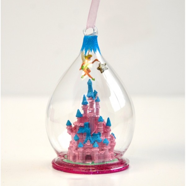 Disney Tinker Bell Christmas Dome Ornament