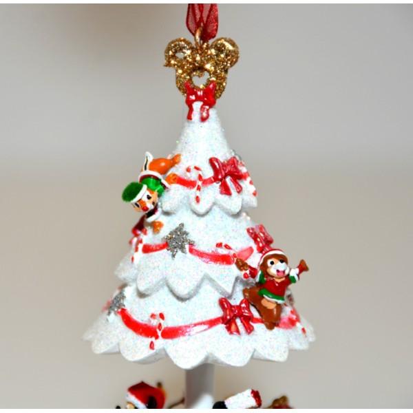 Disneyland Decorated For Christmas: Disneyland Paris Christmas Tree Ornament