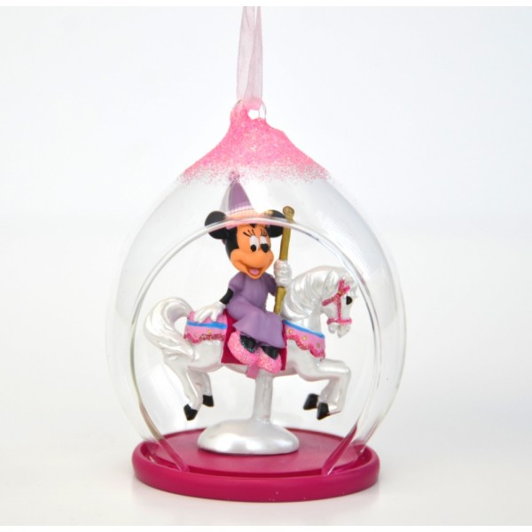 Minnie Mouse Open Dome Ornament