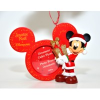Mickey Photo Frame Christmas Ornament, Disneyland Paris