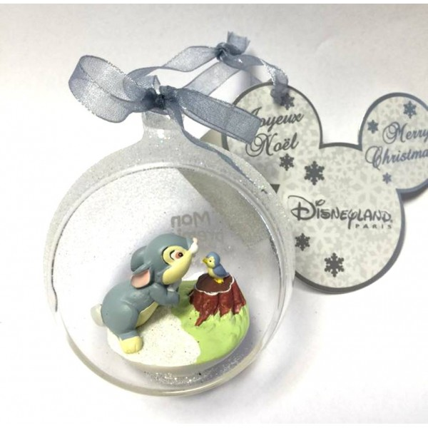 Disney Baby Thumper in a small Christmas bauble