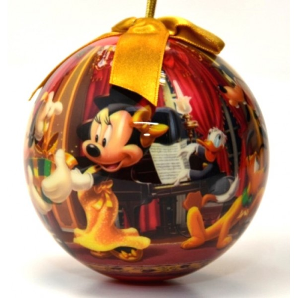 Disney Ball Ornament Mickey & Minnie