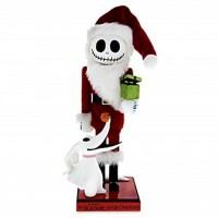 Disney Santa Jack Skellington Nutcracker Figure