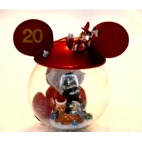 Disneyland Paris 20th Anniversary Bambi Bauble,rare