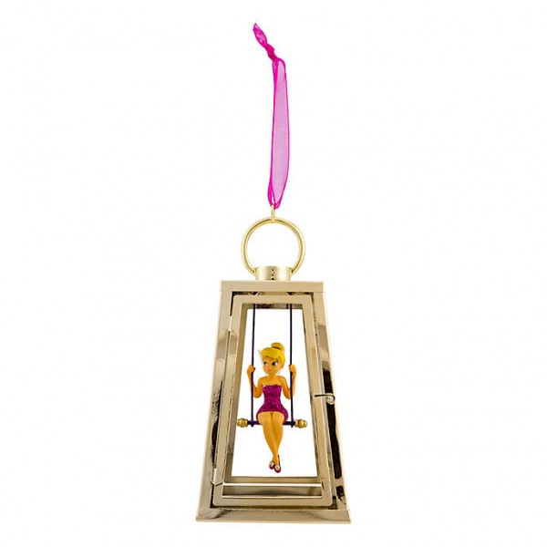 Disney Tinker Bell in a lantern Christmas Ornament, Disneyland Paris