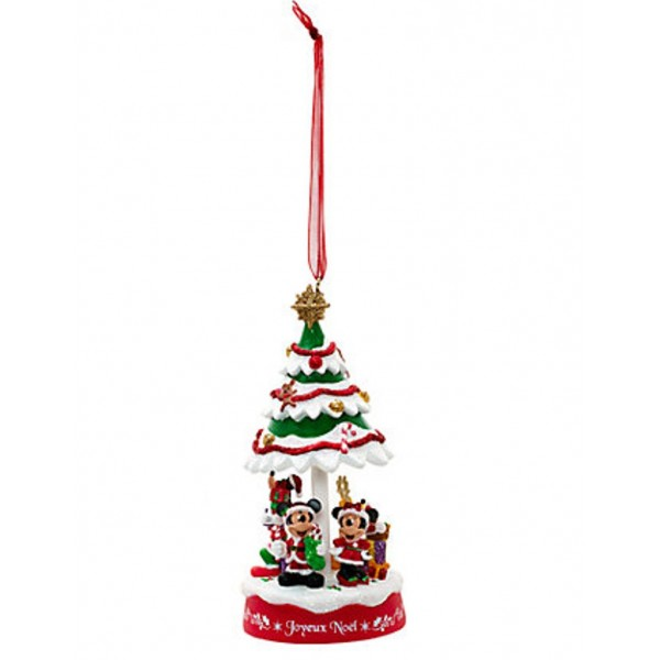 Disneyland Paris Christmas Tree Ornament