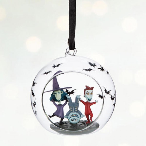 Disney The Nightmare Before Christmas Lock, Shock and Barrel Christmas bauble