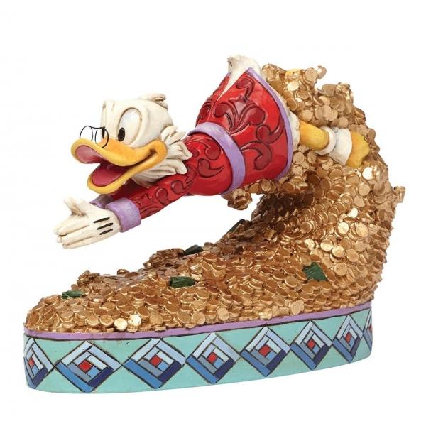 Treasure Dive Scrooge McDuck Figurine