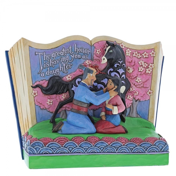 The Greatest Honor is You as a Daughter Storybook Mulan