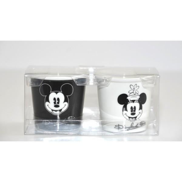 Mickey and Minnie classic Cups set of 2, Disneyland Paris