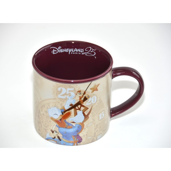 Disneyland Paris Discover the Stars 25th Anniversary Mug