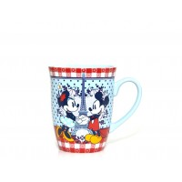 Disneyland Paris Authentic Bistro Collection Mickey and Minnie Mouse Mug